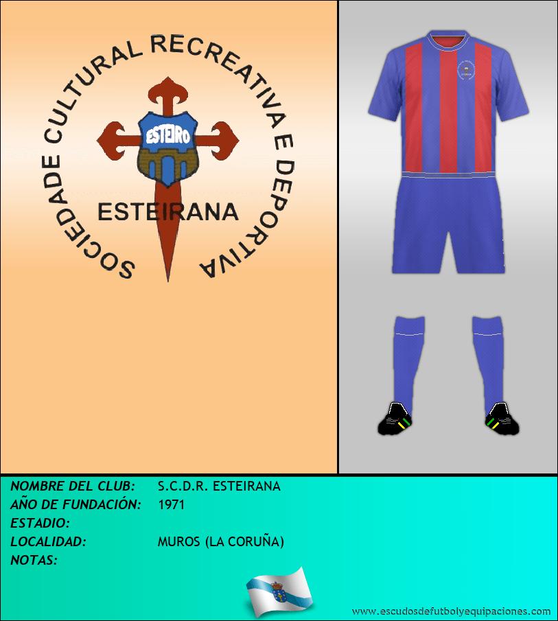 Escudo de S.C.D.R. ESTEIRANA