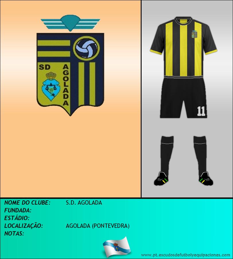 Escudo de S.D. AGOLADA