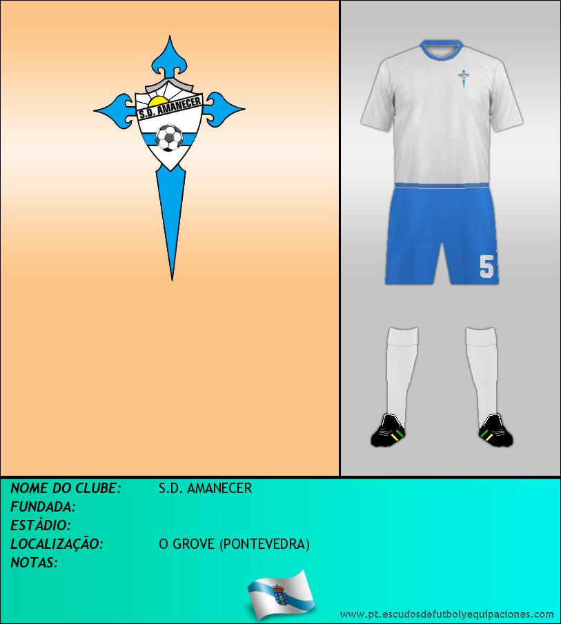 Escudo de S.D. AMANECER