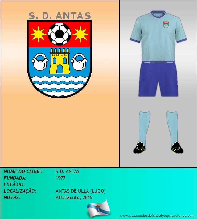 Escudo de S.D. ANTAS