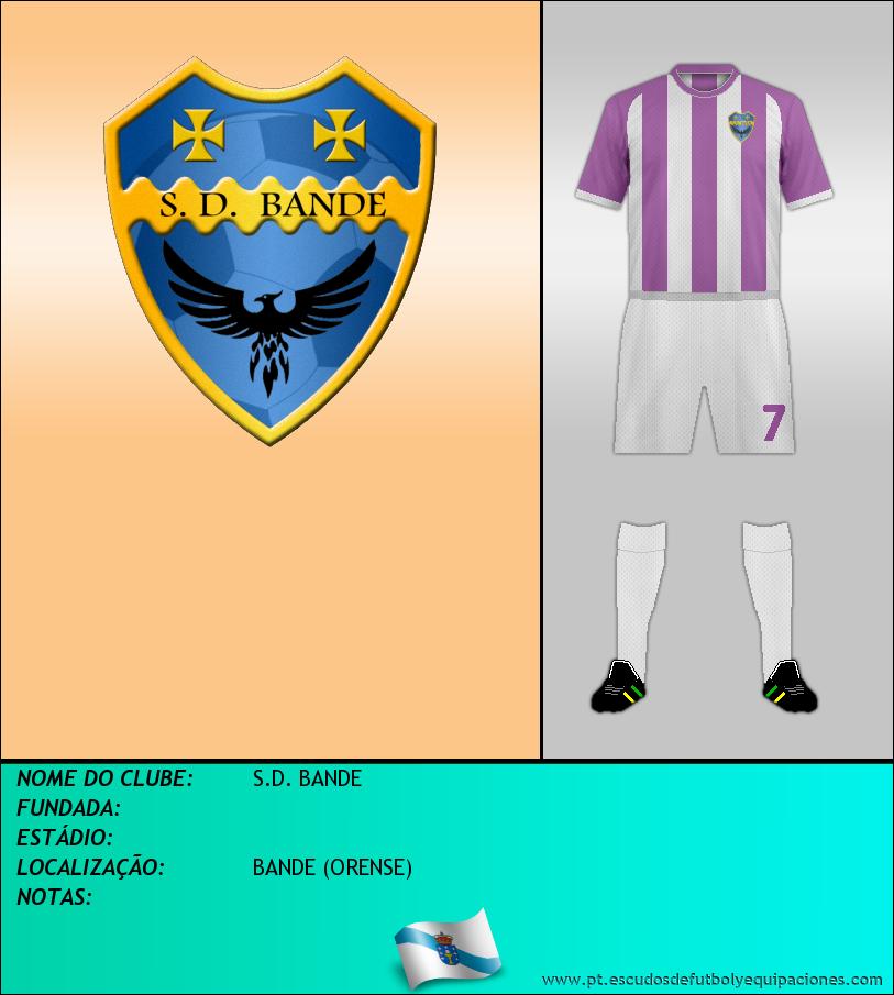 Escudo de S.D. BANDE