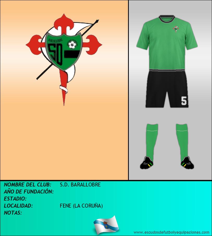 Escudo de S.D. BARALLOBRE
