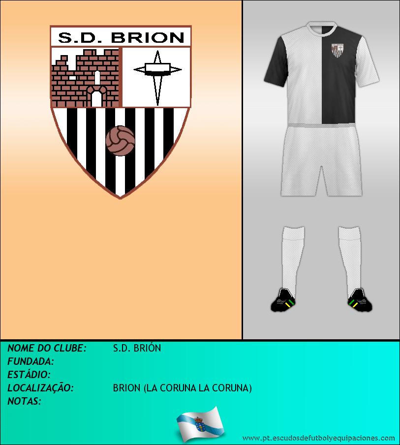 Escudo de S.D. BRIÓN