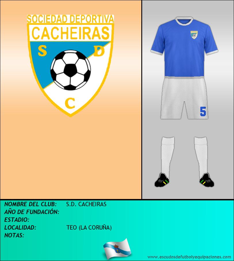 Escudo de S.D. CACHEIRAS