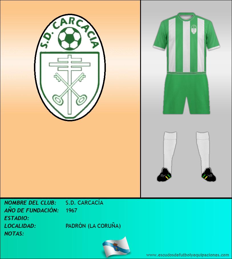 Escudo de S.D. CARCACÍA