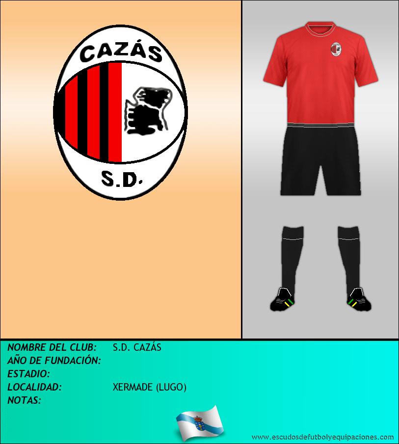 Escudo de S.D. CAZÁS