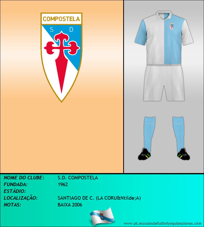 Escudo de S.D. COMPOSTELA