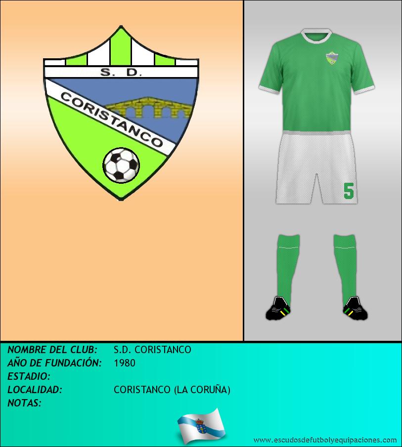 Escudo de S.D. CORISTANCO