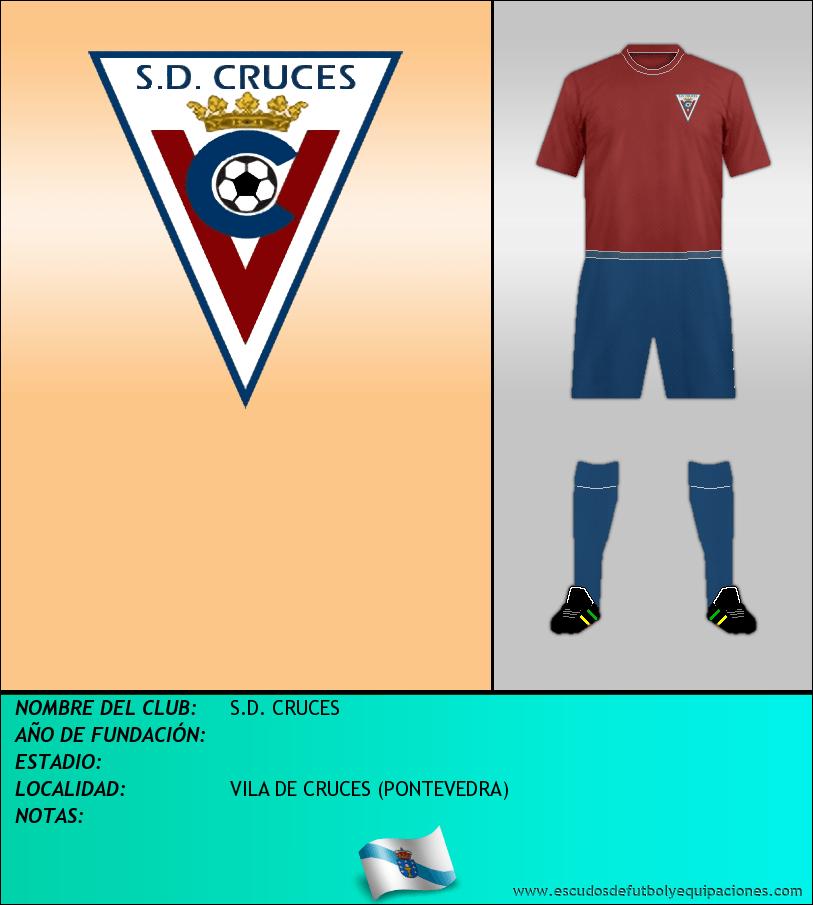 Escudo de S.D. CRUCES