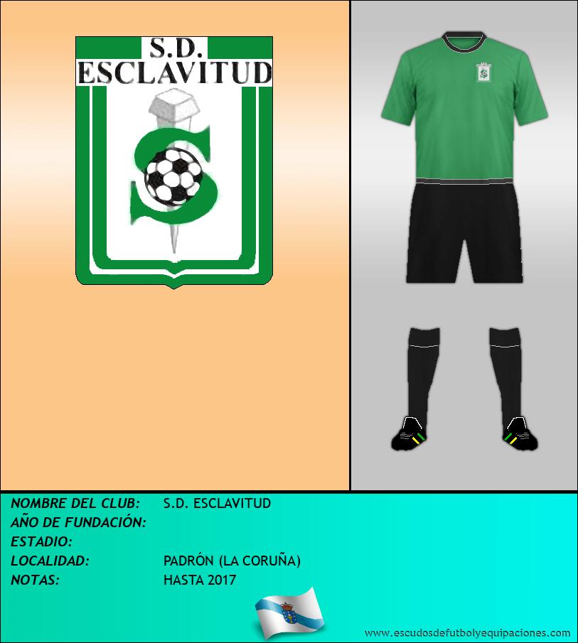 Escudo de S.D. ESCLAVITUD