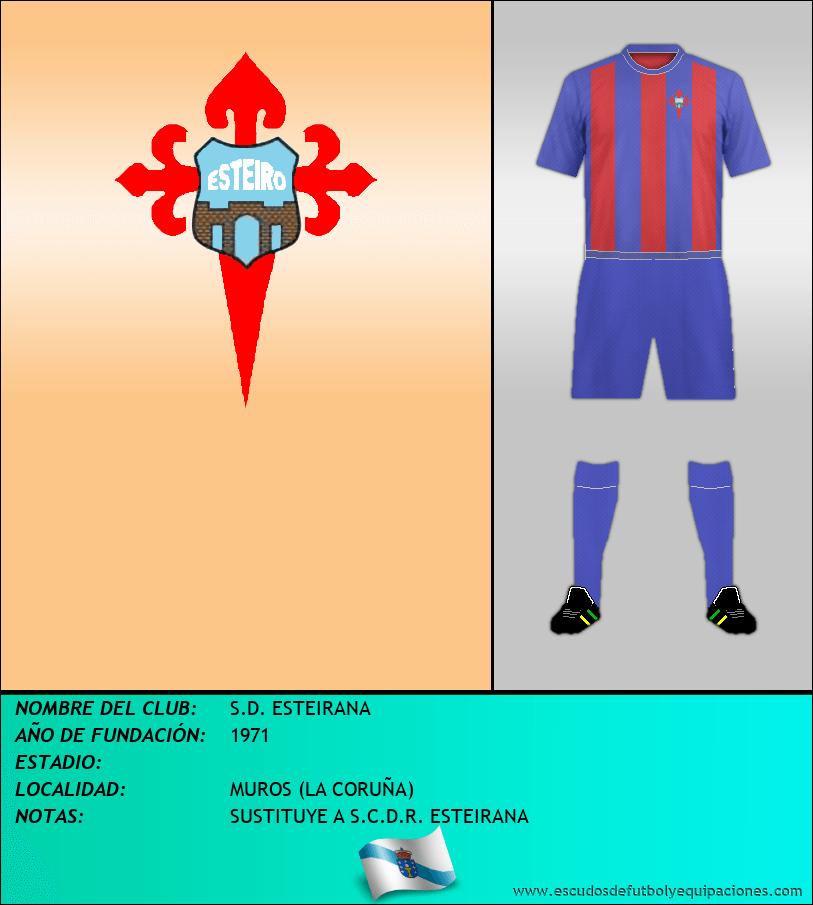 Escudo de S.D. ESTEIRANA