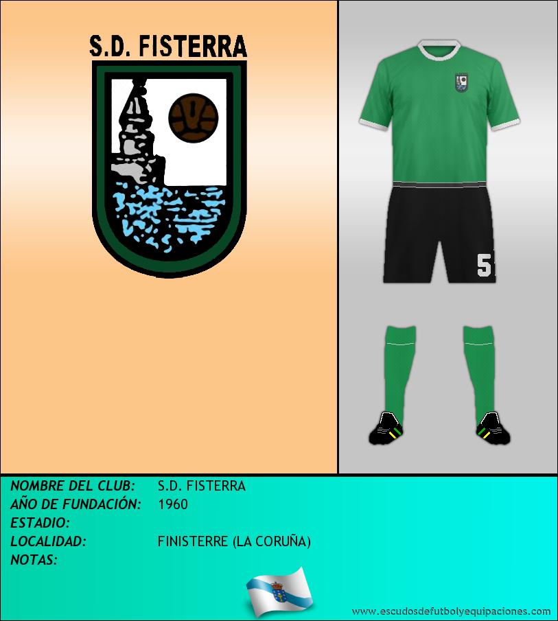 Escudo de S.D. FISTERRA