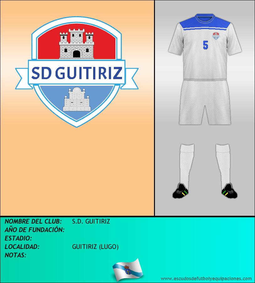 Escudo de S.D. GUITIRIZ