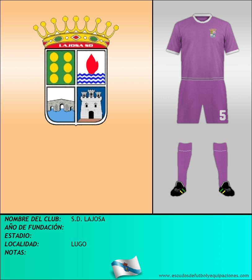 Escudo de S.D. LAJOSA