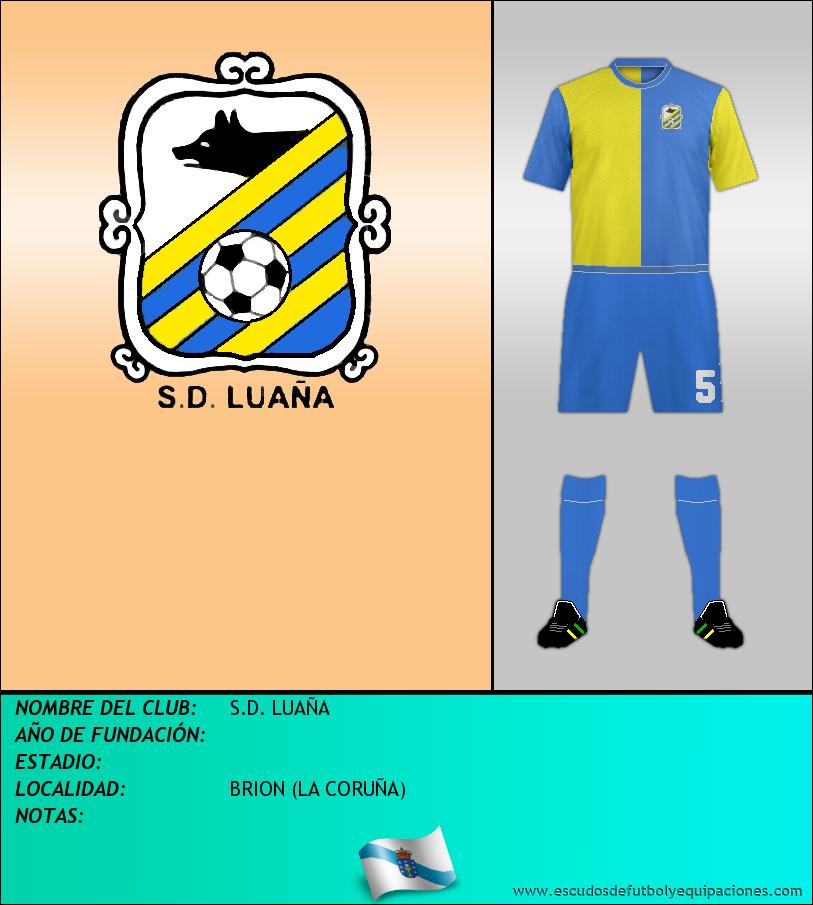 Escudo de S.D. LUAÑA