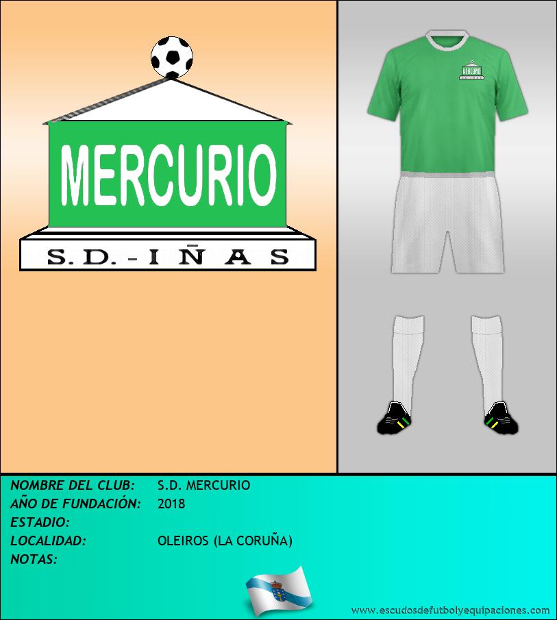Escudo de S.D. MERCURIO