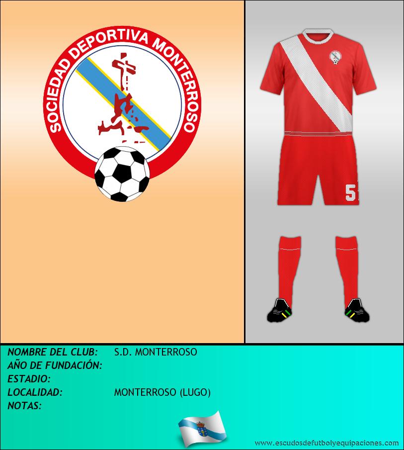 Escudo de S.D. MONTERROSO