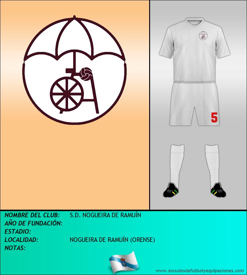 Escudo de S.D. NOGUEIRA DE RAMUÍN