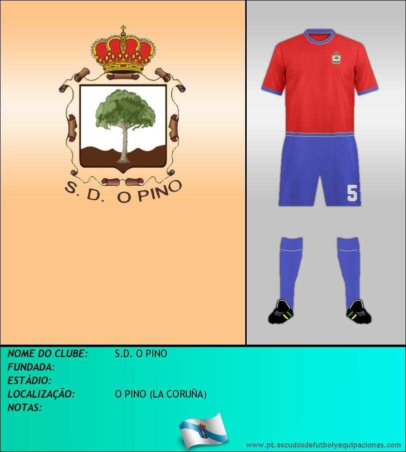 Escudo de S.D. O PINO