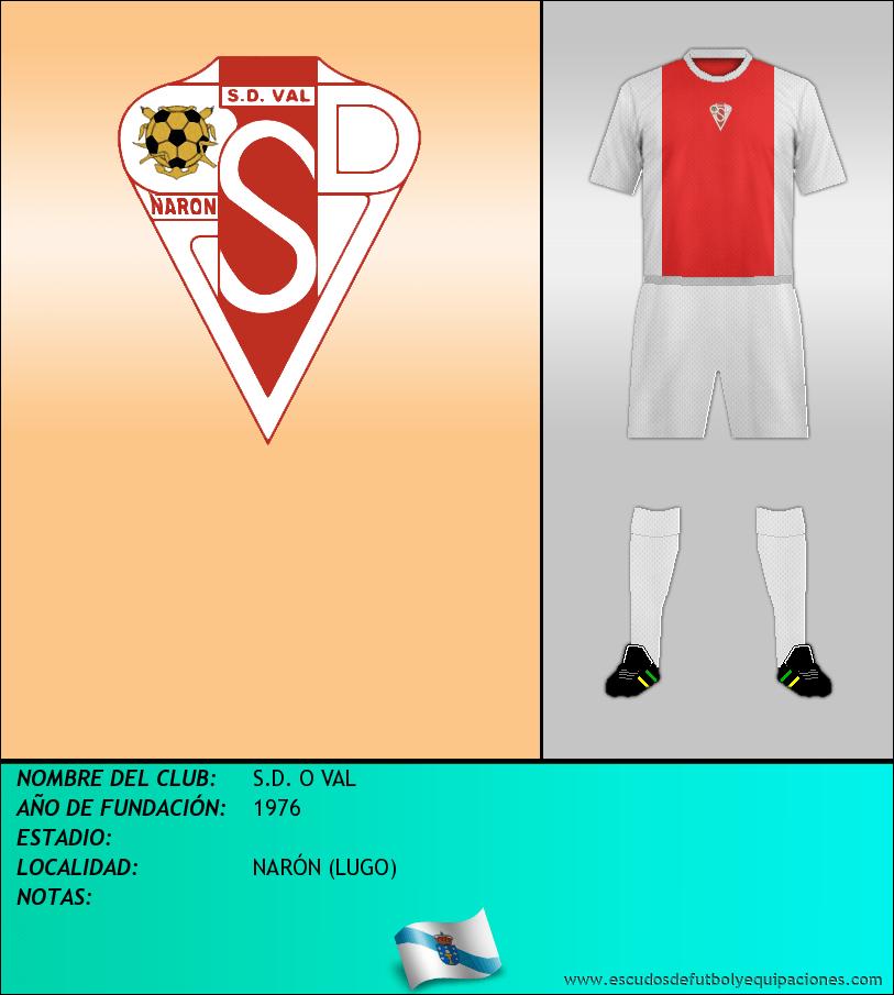 Escudo de S.D. O VAL