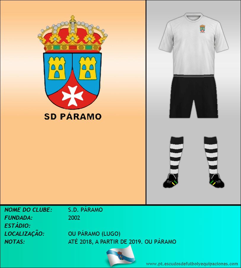 Escudo de S.D. PÁRAMO