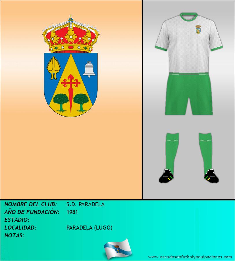 Escudo de S.D. PARADELA