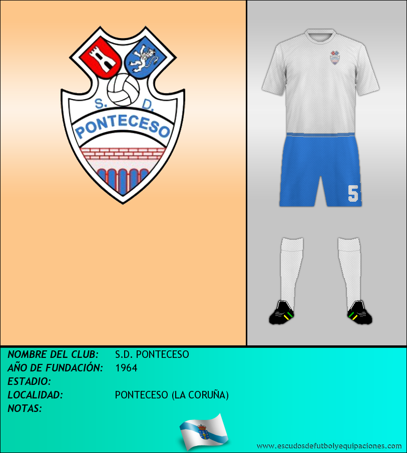 Escudo de S.D. PONTECESO
