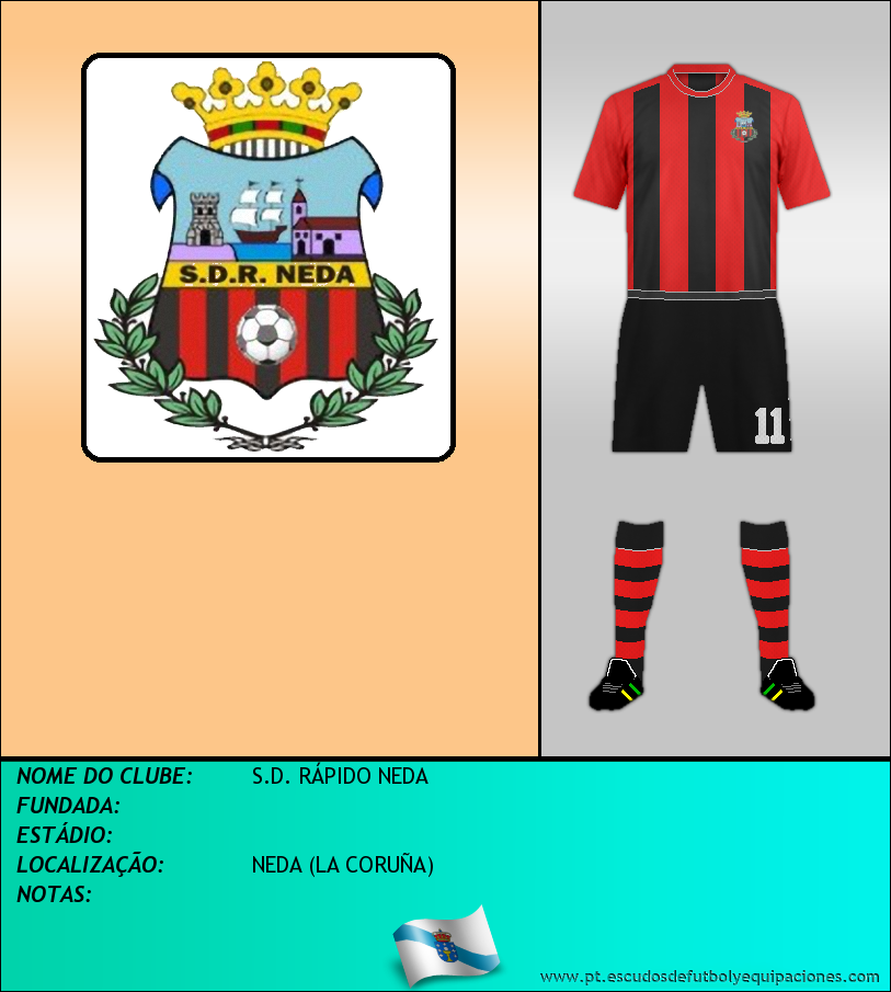 Escudo de S.D. RÁPIDO NEDA