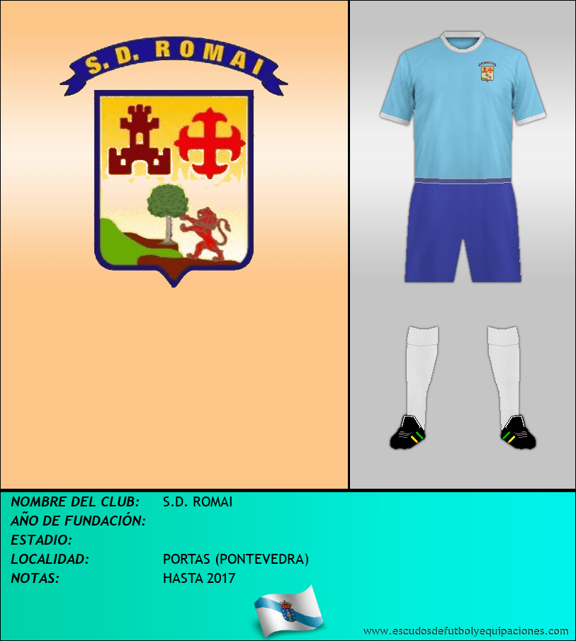 Escudo de S.D. ROMAI
