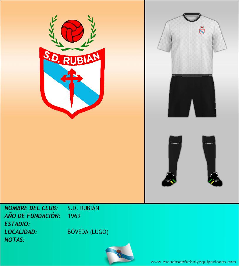Escudo de S.D. RUBIÁN