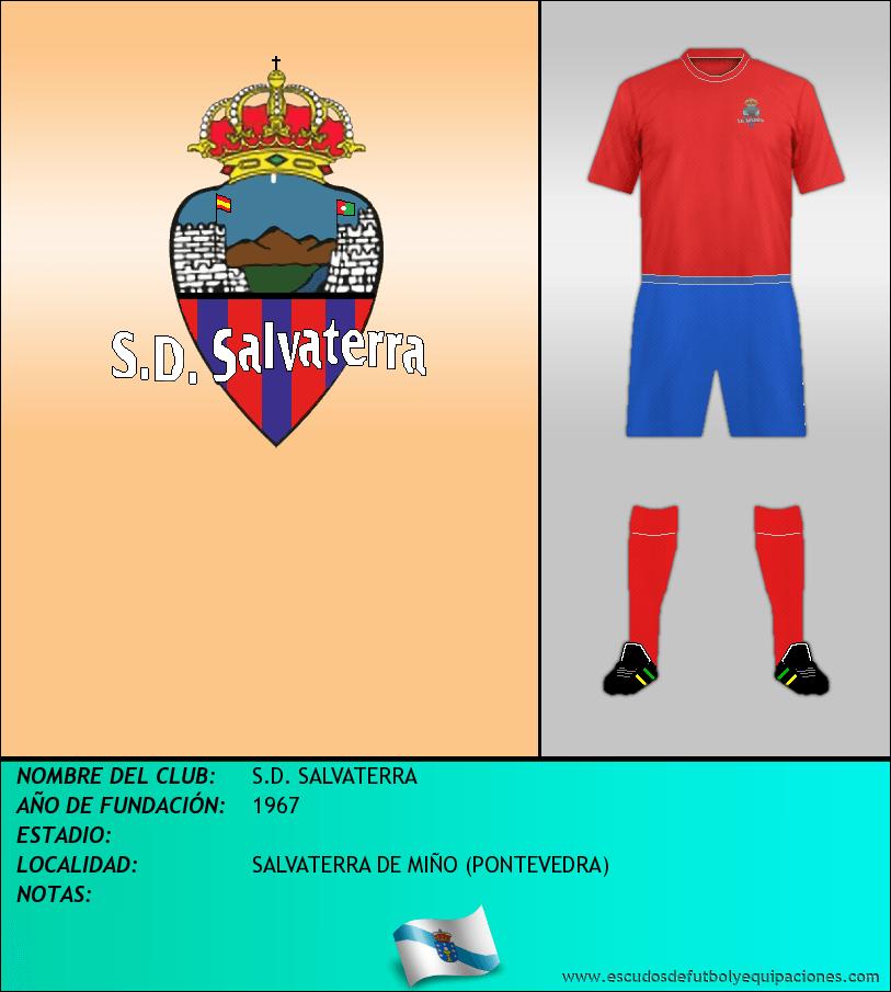 Escudo de S.D. SALVATERRA