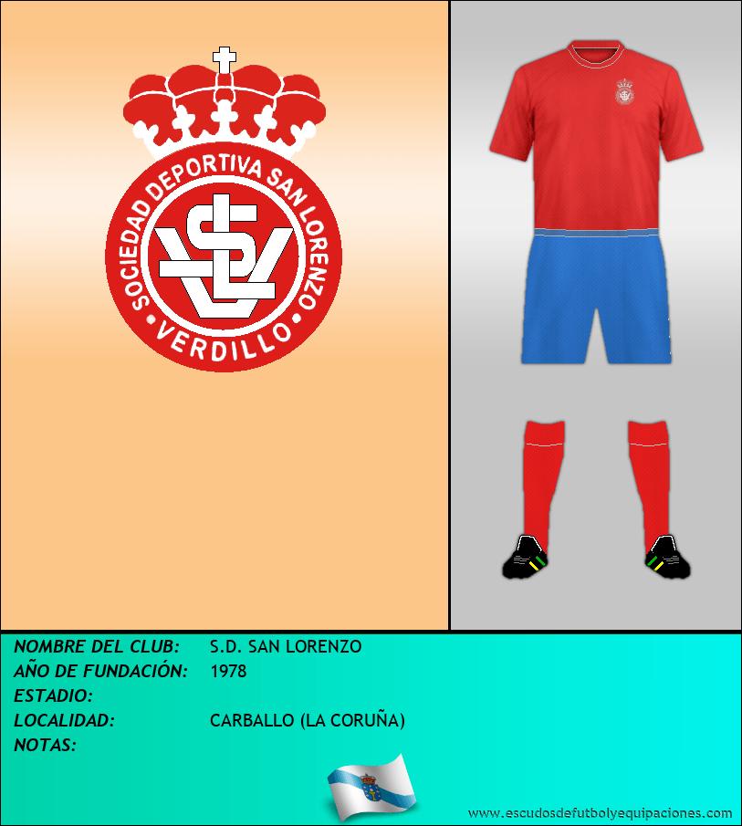Escudo de S.D. SAN LORENZO