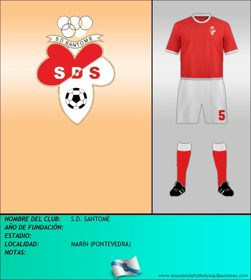 Escudo de S.D. SANTOMÉ