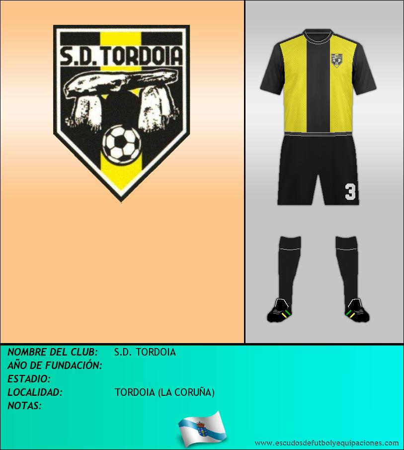 Escudo de S.D. TORDOIA