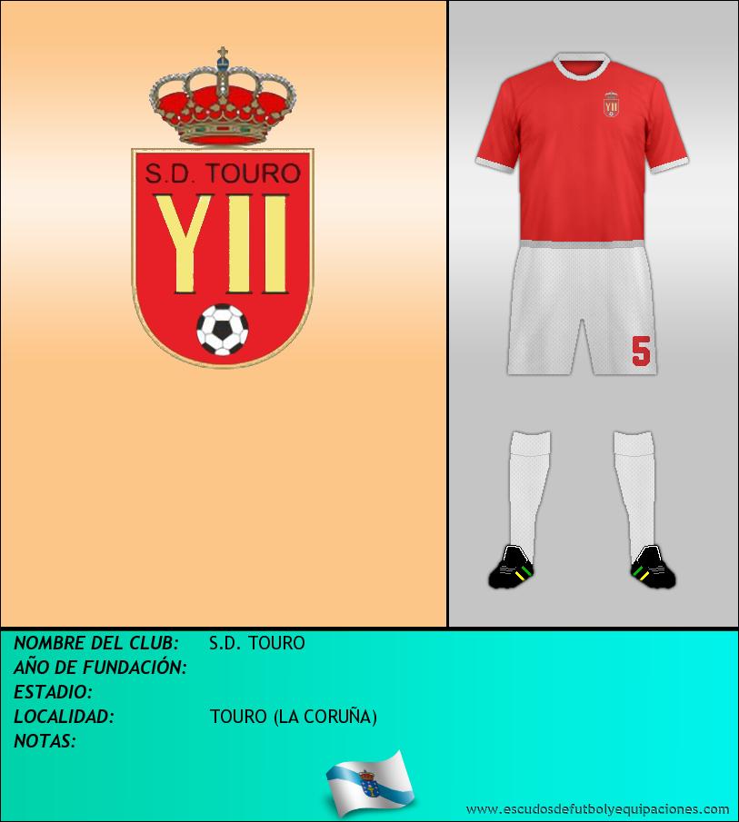 Escudo de S.D. TOURO