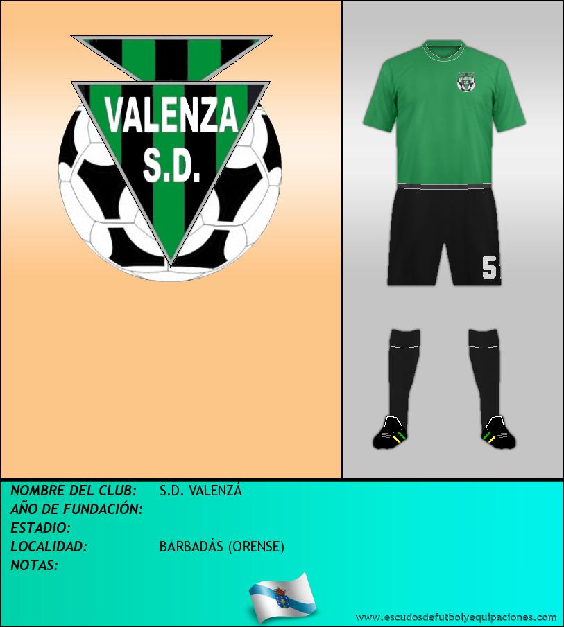 Escudo de S.D. VALENZÁ