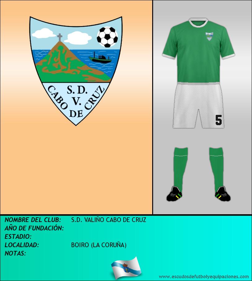 Escudo de S.D. VALIÑO CABO DE CRUZ