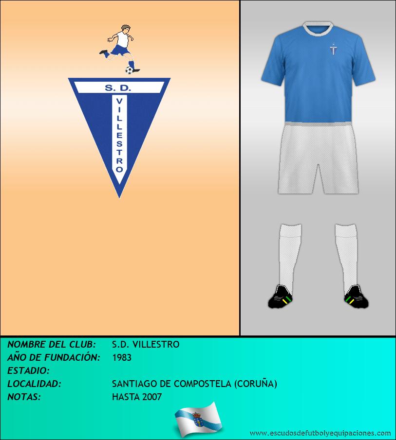 Escudo de S.D. VILLESTRO