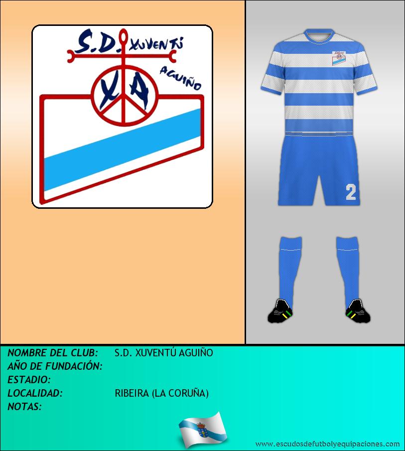 Escudo de S.D. XUVENTÚ AGUIÑO