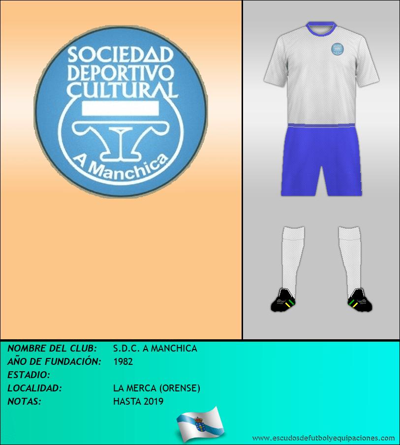 Escudo de S.D.C. A MANCHICA