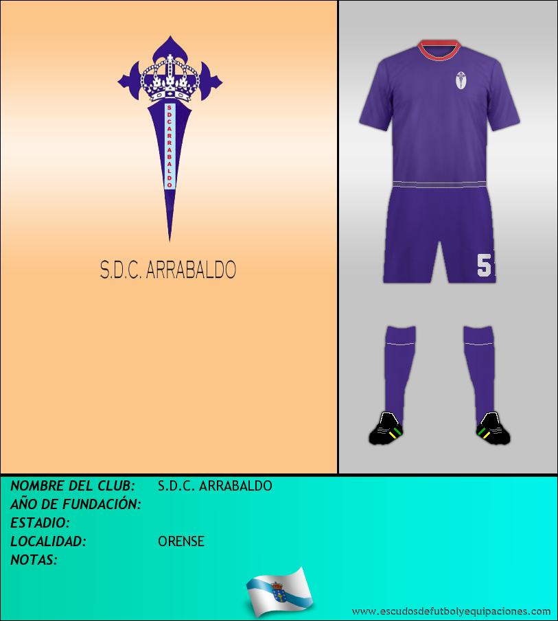 Escudo de S.D.C. ARRABALDO