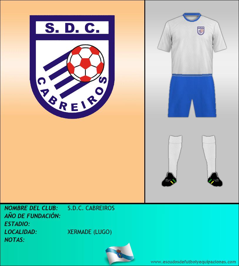 Escudo de S.D.C. CABREIROS