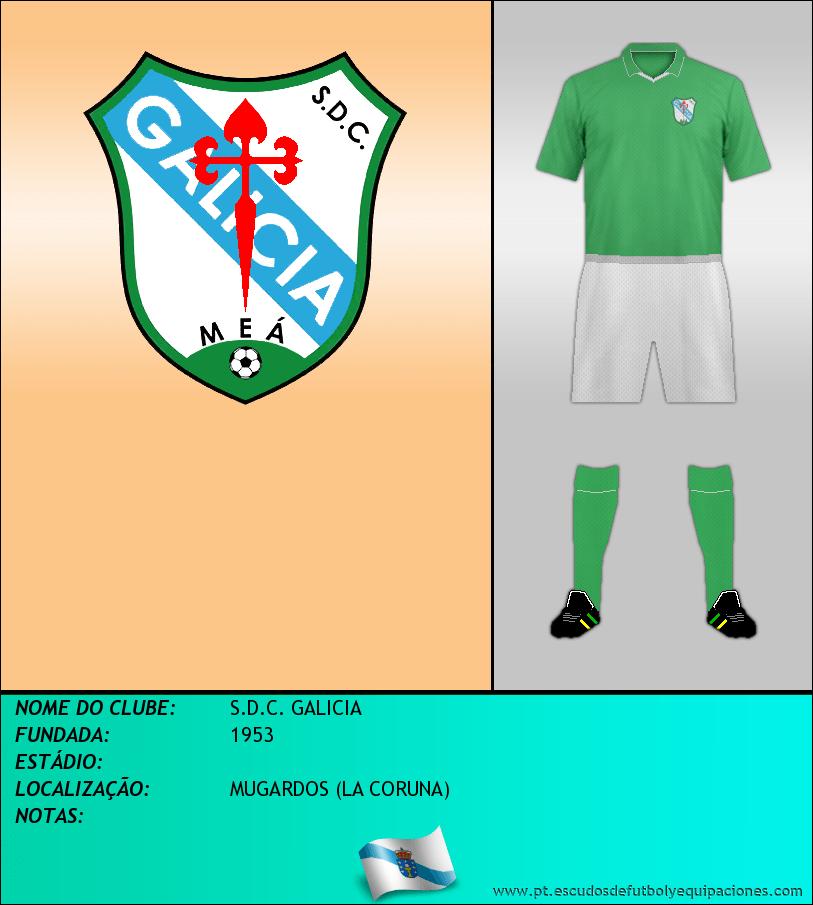 Escudo de S.D.C. GALICIA
