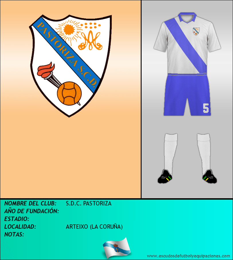 Escudo de S.D.C. PASTORIZA