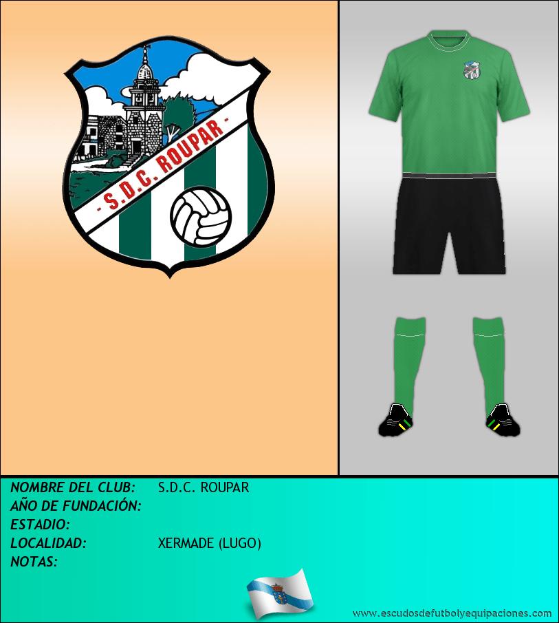 Escudo de S.D.C. ROUPAR