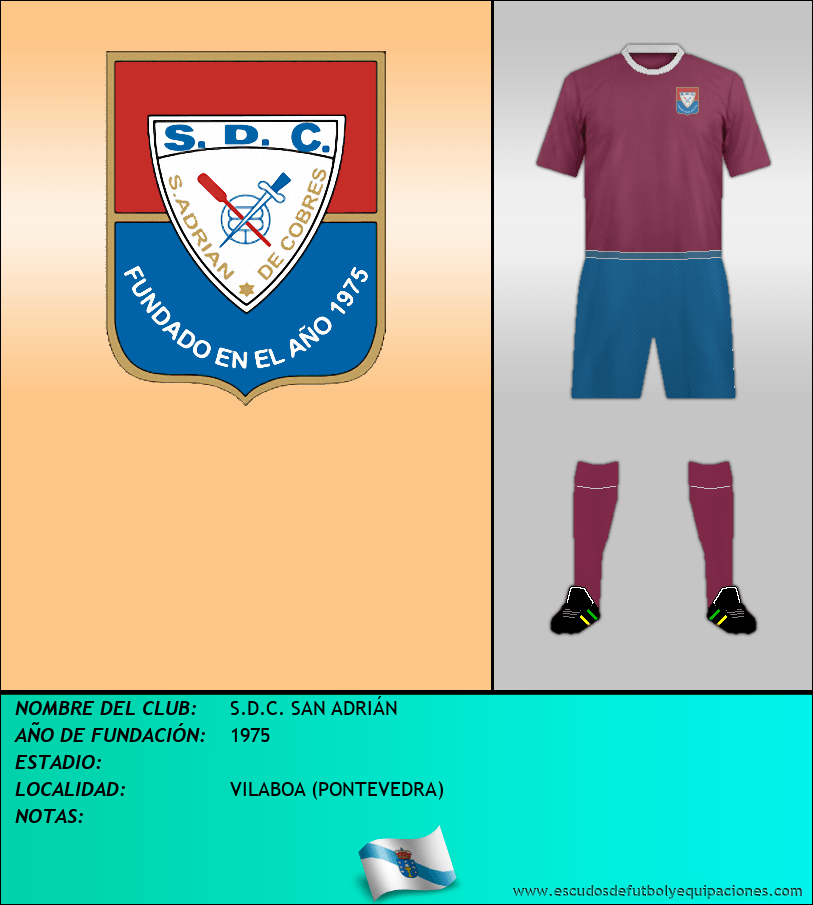 Escudo de S.D.C. SAN ADRIÁN