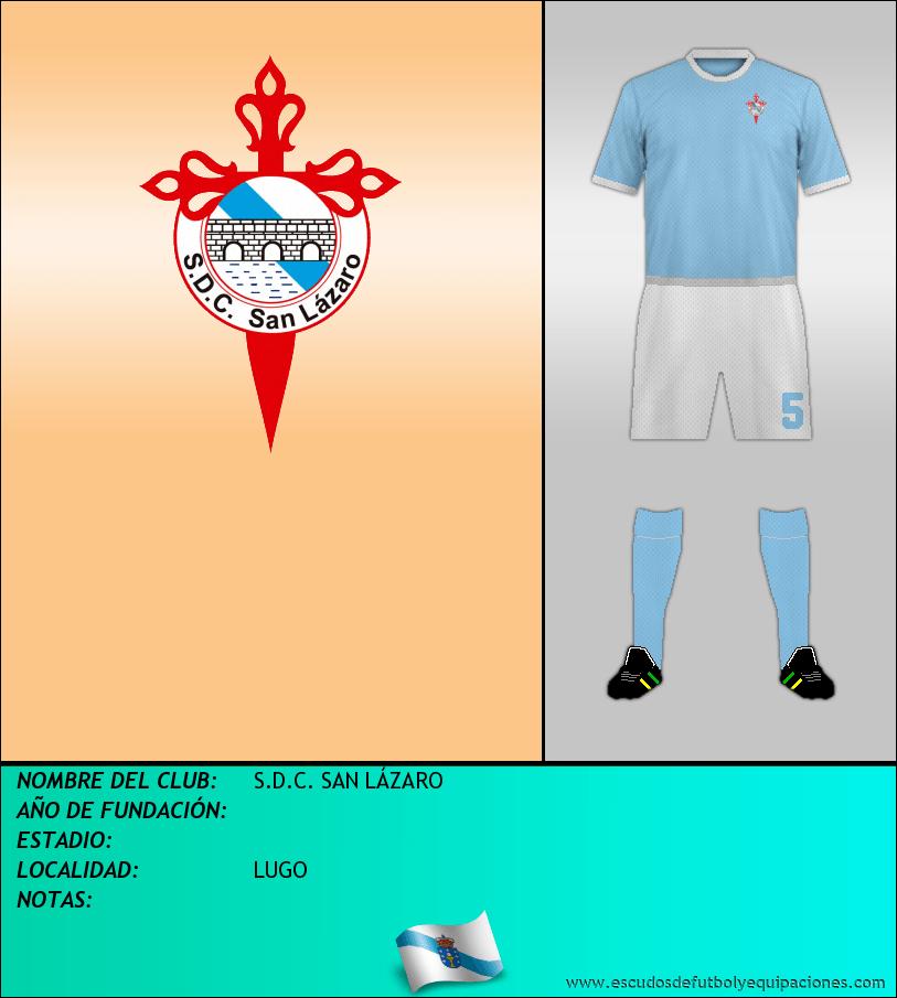 Escudo de S.D.C. SAN LÁZARO