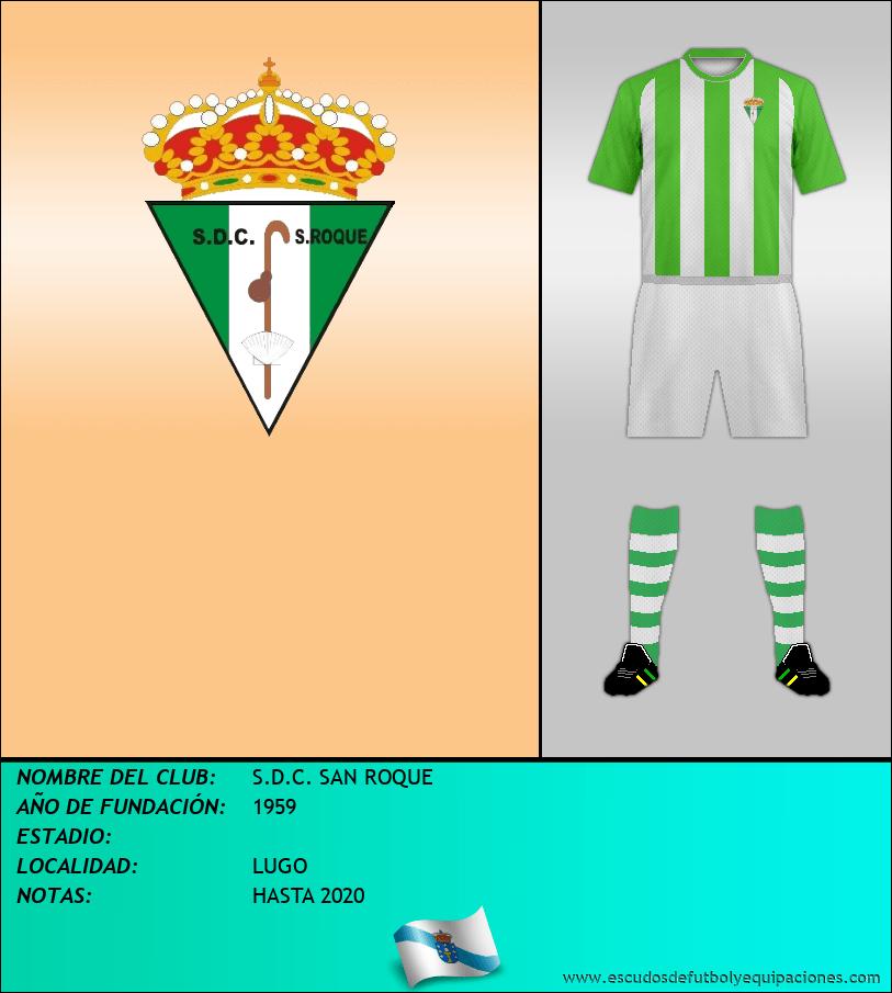 Escudo de S.D.C. SAN ROQUE