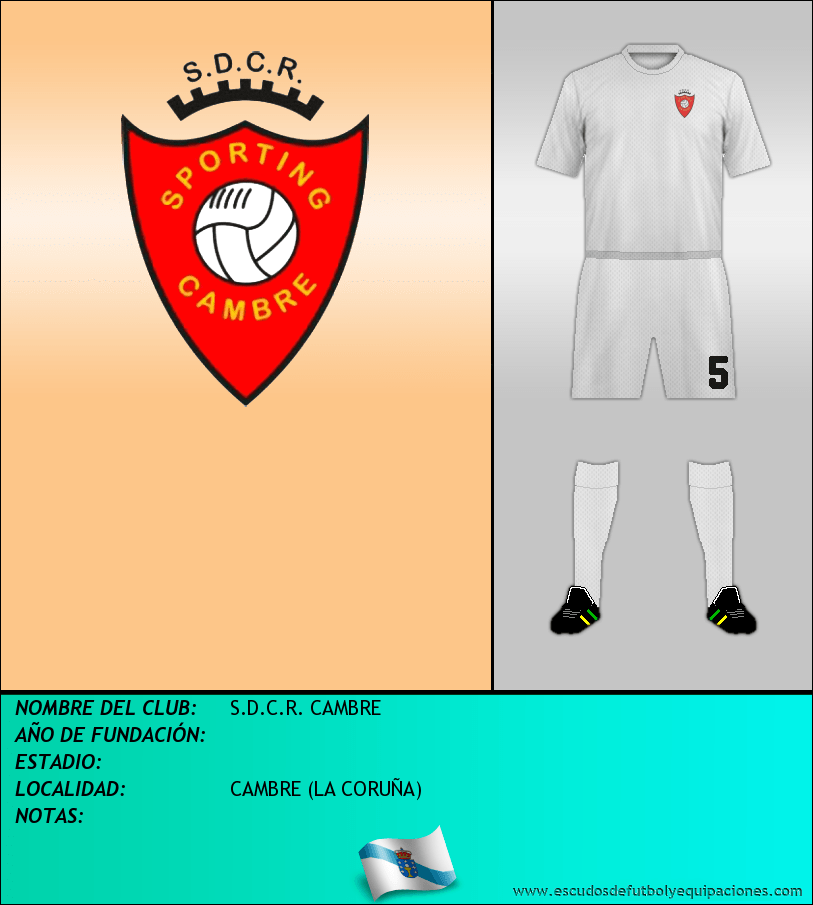 Escudo de S.D.C.R. CAMBRE