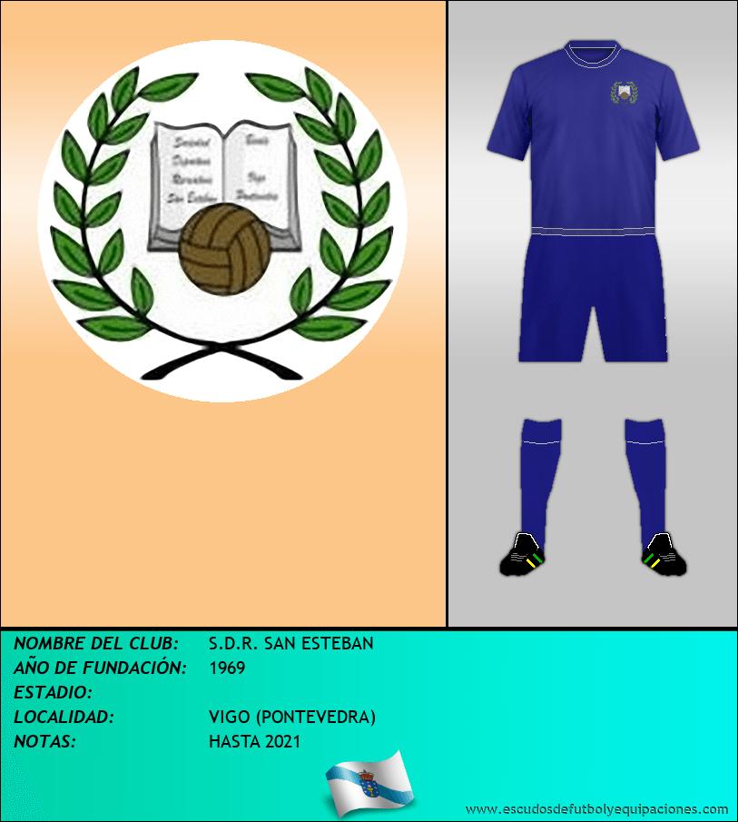 Escudo de S.D.R. SAN ESTEBAN